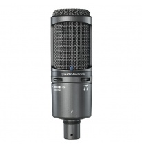 Audio Technica AT 2020 USB+ Studijas Kondensatora Mikrofons