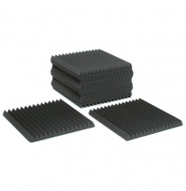 "Auralex Acoustics 2"" Studiofoam Wedges (Charcoal) (12 pcs.)"