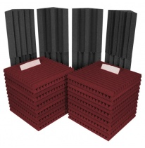 Auralex Acoustics Roominators Project 2 (Burgundy)