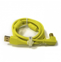DJ TechTools Chroma USB 2.0 Cable 1.5m (Angled Green)
