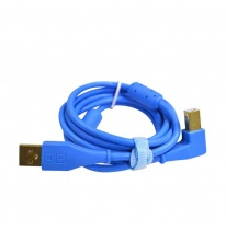 DJ TechTools Chroma USB 2.0 Cable 1.5m (Angled Blue)
