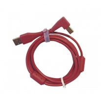 DJ TechTools Chroma USB 2.0 Cable 1.5m (Angled Red)
