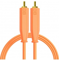 DJ Techtools Chroma Dual RCA - Dual RCA Cable 1.5m (Neon Orange)