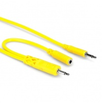 Hosa CMM-545Y Hopscotch Patch Cables 0.45m (5 pcs.)
