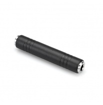 Hosa GPP-105 6.3mm TRS-Female - 6.3mm TRS-Female Adapter