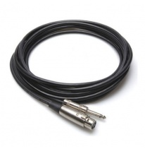 Hosa MCH-110 3-Pin XLR-Female - 6.3mm TS Cable 3m