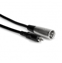 Hosa XRM-110 RCA - XLR-Male Cable 3m