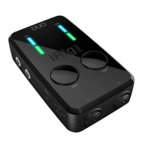 IK Multimedia iRig Pro DUO MIDI Audio Interfeiss (iOS / Mac / PC / Android)