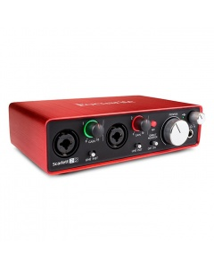 Focusrite Scarlett 2i2 2nd Gen USB Audio Interfeiss