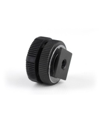 """Zoom HS-1 Hot Shoe Mount Adapter 1/4"""" for Zoom H1n / Zoom H4n Pro"""