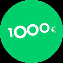Dāvanu karte 1000€