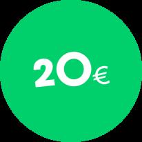 Dāvanu karte 20€