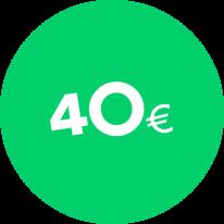 Dāvanu karte 40€