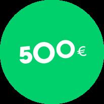Dāvanu karte 500€