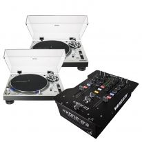 Audio Technica LP140XP (Silver) + Allen & Heath Xone:23 Bundle