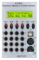 Doepfer A-190-5 Polyphonic USB/Midi-to-CV/Gate Interface