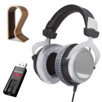 Beyerdynamic DT 880 Edition (250 Ω) + Audioquest Dragonfly (Black) + Glorious Stand Bundle