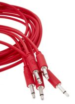 Erica Synths Eurorack Patch Cables 0.2m (5 pcs, Red)