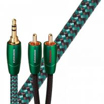 Audioquest Evergreen 3.5mm TRS - Dual RCA Cable 2m