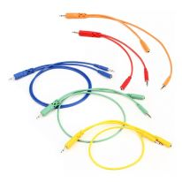 Hosa CMM-500Y-MIX Hopscotch Patch Cables (5 pcs.)