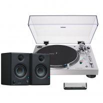 Audio Technica LP120XUSB (Black) + Presonus Eris E3.5 Bundle