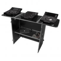 UDG Ultimate Fold Out DJ Table Silver MK2 Plus (Wheels) (U92049SL2)