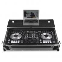 UDG Ultimate Flight Case Pioneer DDJ-RZ / DDJ-SZ2 Silver Plus (Laptop Shelf + Wheels) (U92010SL)