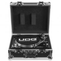 UDG Ultimate Flight Case Multi Format Turntable Silver (U92030SL)