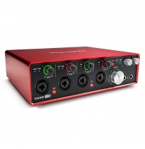 Focusrite Scarlett 18i8 2nd Gen USB Audio Interfeiss
