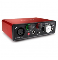Focusrite Scarlett Solo 2nd Gen USB Audio Interfeiss