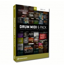 Toontrack Drum MIDI 6 Pack (Download)