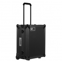 UDG Ultimate Flight Case Multi Format Turntable Black MK2 Plus (Trolley + Wheels) (U91029BL2)