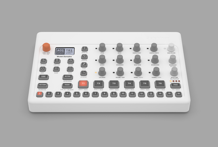 Jaunums: Elektron Model:Samples groovebox