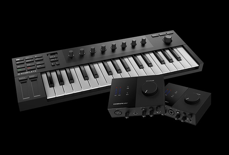 Jaunums: Native Instruments Kontrol M32, Komplete Audio 1/2, Traktor DJ 2 un Komplete Start