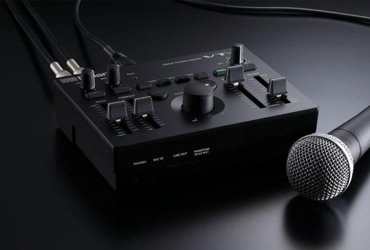 Jaunums: Roland VT-4 balss transformētājs